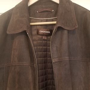 Danier Suede Jacket. Size Medium